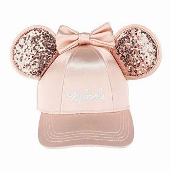 Disney Minnie Mouse Rose Gold Bling Ears Girls Adjustable