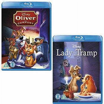 Oliver and Company - Lady and The Tramp - Walt Disney 2